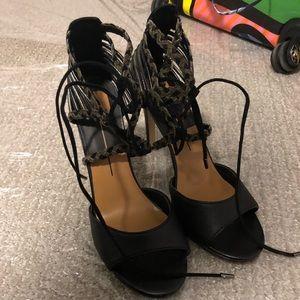 Dolce Vita Black Heels Strappy 11